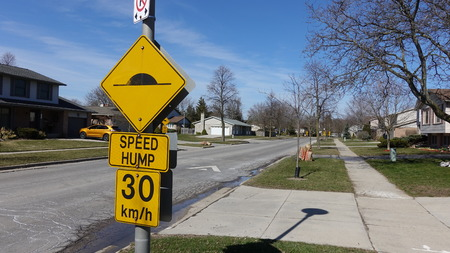Various road signs, signage, etc. Indicates things you can and cannot do Standard-Bild