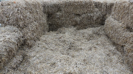 Bales Of Hay That You Can Sit In