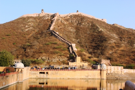 Amber Fort in Jaipur  India  February photo