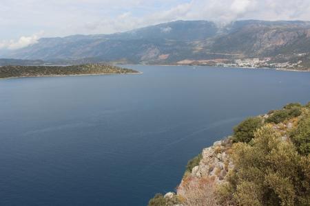 lanscape: Islands Lanscape In Mediterranean Sea  Kas, Turkey  September