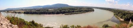 morava: Landscape confluence of Danube and Morava rivers