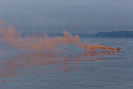 distress: Smoke on the water