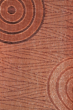 Detail of woven silk fabric near Angkor Wat in Siem Reap, Cambodia
