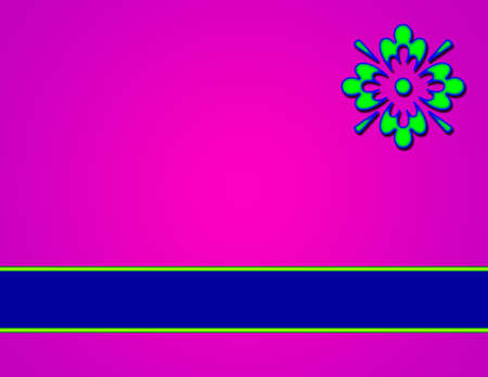 exciting: Purple Background with Insignia and blue banner area