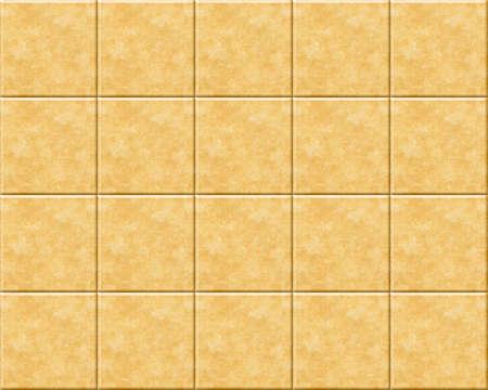 Brown textured tile floor or wall.