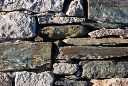 Worn and textured rocks stacked on top of each other Reklamní fotografie