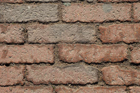 Old dirty red brick background