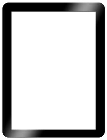 tablet: Tablet Computer Blank