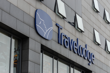 Liverpool, UK: Aug 3, 2018:Travelodge operate a chain of budget hotels.