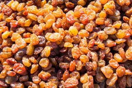 sultanas: Fresh sultanas at a local shopping market stall in Russia