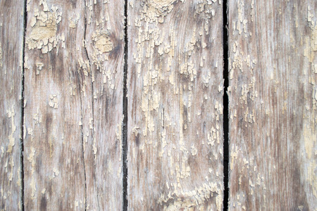 weatherworn: Aged wood that looks weatherworn with passing time Stock Photo
