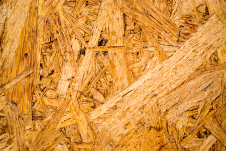 unpainted: Plywood closeup wood detail of pulped wood texture unpainted Stock Photo
