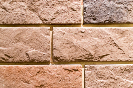 wall covering: Artificial brick effect wall covering for home decoration