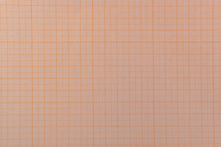Pink blank graph paper in seamless overhead position