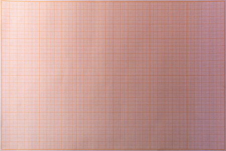 Pink blank school graph paper in seamless overhead position photo