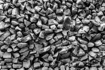 大まかな岩や石で石の建物外観