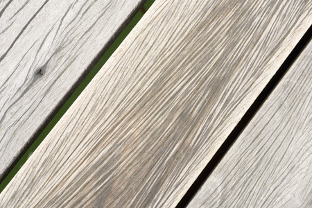 worn structure: Wooden texture from southend on sea pier that is now going to be dismantled. Stock Photo