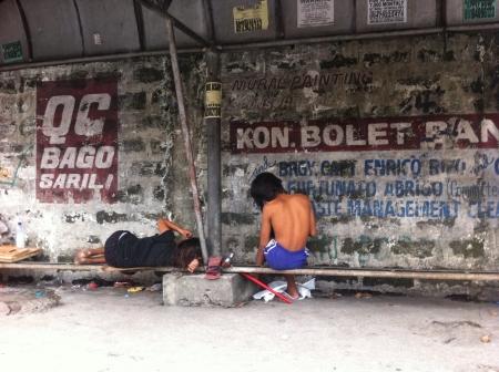 homeless people: Homeless people