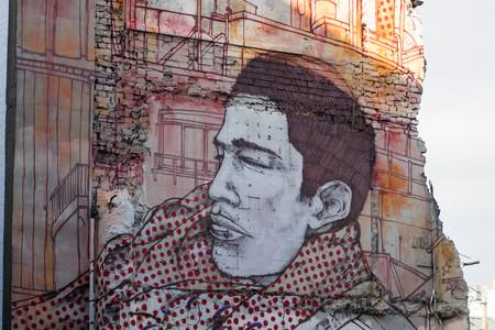Stoic, Red Haired Gent. Graffiti Art, Duke Street, Liverpool Editorial
