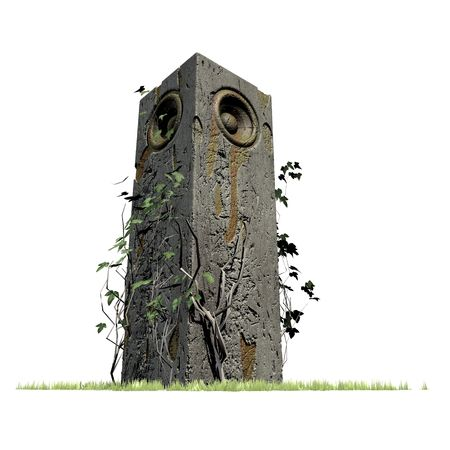 monument speaker sound system jungle woofer DJ photo