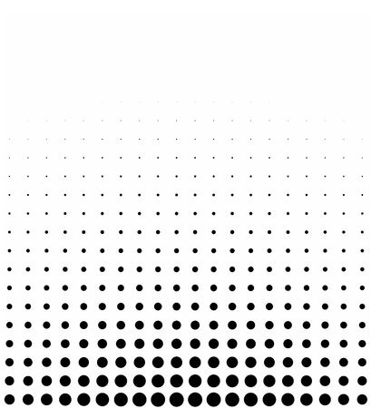 degrade: graphical black and white gradient in mezzo halftone style