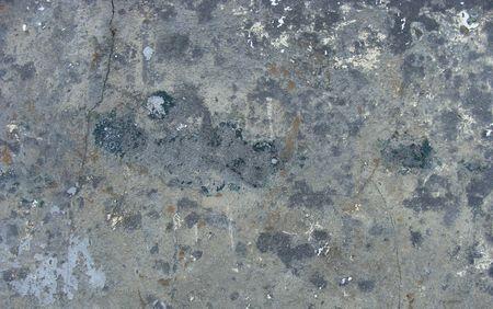 pared sucia gris azul con pintura sobrante y crack  Foto de archivo - 7327605