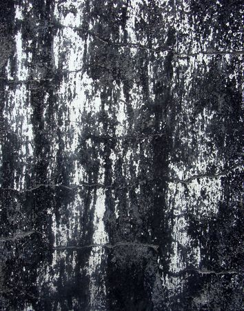 abstract black and white damaged paint pattern photo