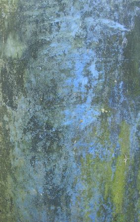 blue green mold grunge pattern on plastic photo