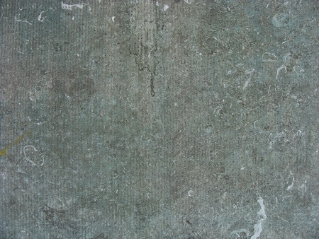 blue colored stone slab from a pedestal underneath a bronze sculpture                                Stock Photo - 9090619