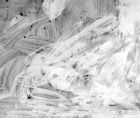 alpha bump map of brush strokes paint on a window                                                               Stock Photo