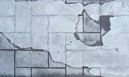 brute: grunge piastrelle bruta e pavimentazione dettaglio della verniciatura