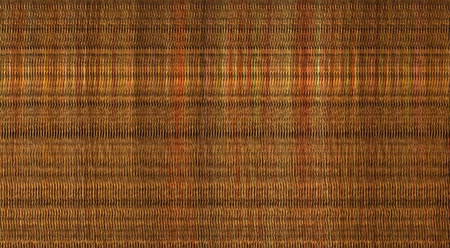 3d macro render computer chaos orange color pattern Stock Photo - 13604547