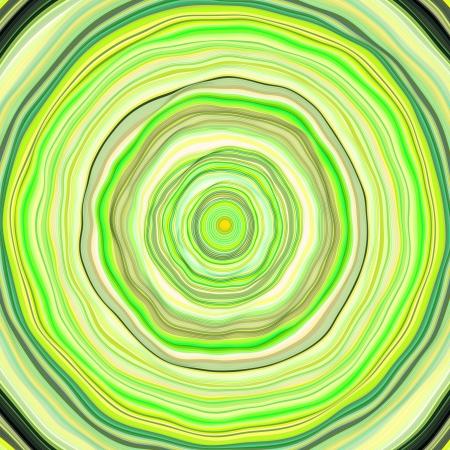 wobbly: 3d wobbly tube green abstract backdrop
