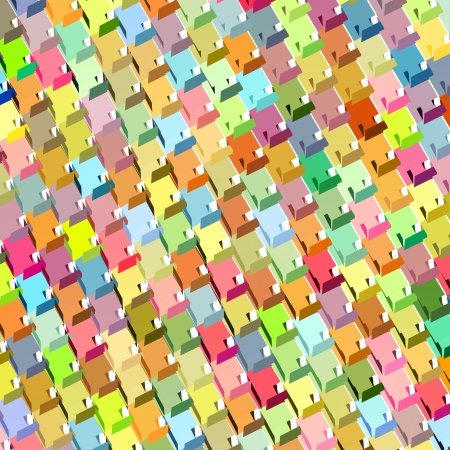fragmented: fragmented rainbow color abstract pattern surface backdrop