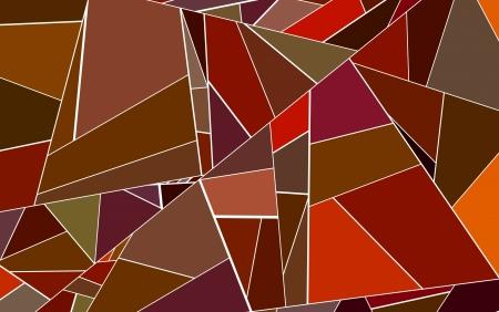 fragmentation: abstract fragmented pattern red orange backdrop