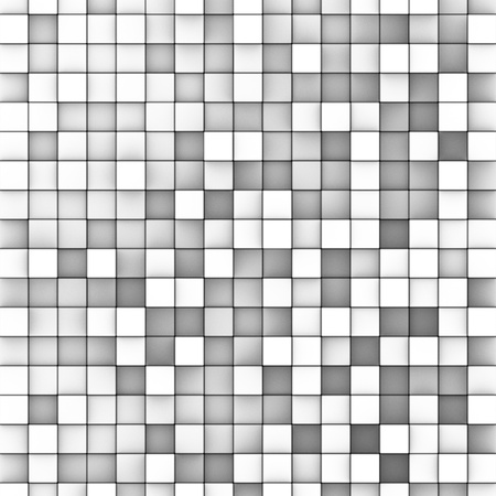 3d mosaic backdrop in shade of gray white  Stock Photo - 15497648