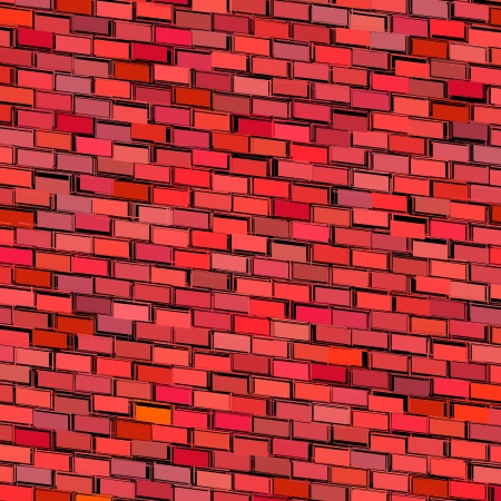 colorized: abstract red magenta tiled fragmented exploded backdrop