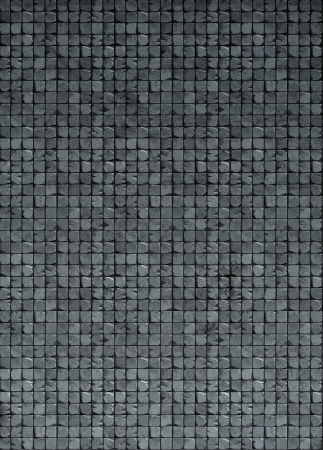 3d tile mosaic wall floor in gray gradient grunge stone