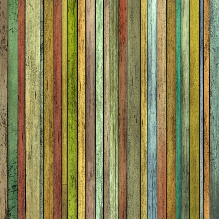 abstract grunge 3d render colored wood timber plank backdrop photo