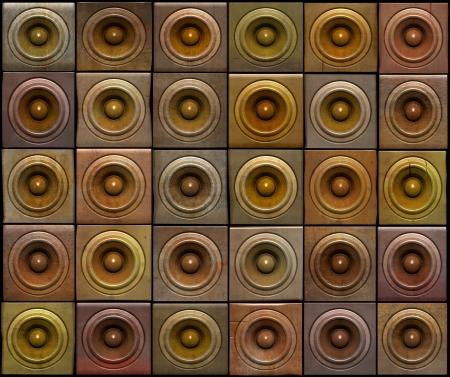 3d render of grunge sound-system deejay dj set Stock Photo - 17239841