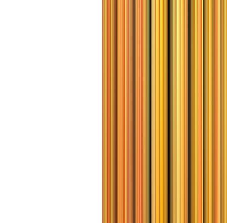 3d orange yellow orange cable shape backdrop Stock Photo - 18706662