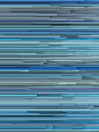 varied: 3d abstract striped backdrop in varied blue shape