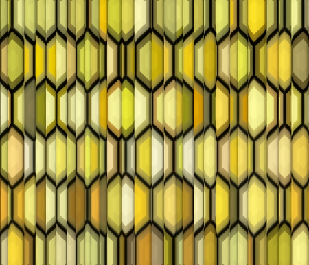 fragmented: abstract yellow backdrop fragmented Stock Photo