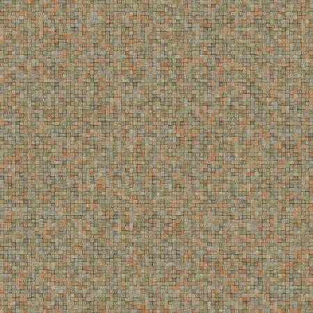 cubical: square mosaic tiled metal rusty grunge pattern