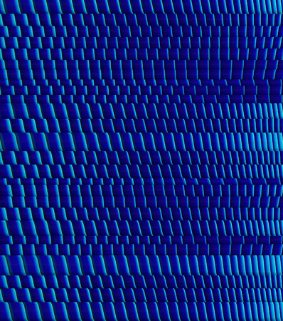 3d abstract blue striped backdrop