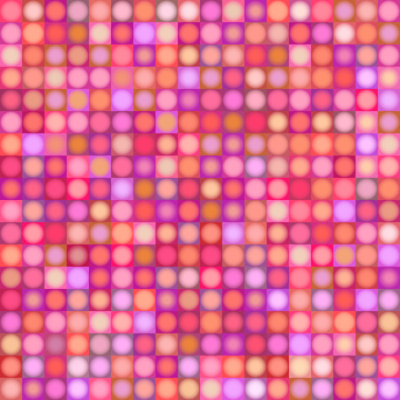 multiple: background with sphere and square in multiple pink red magenta
