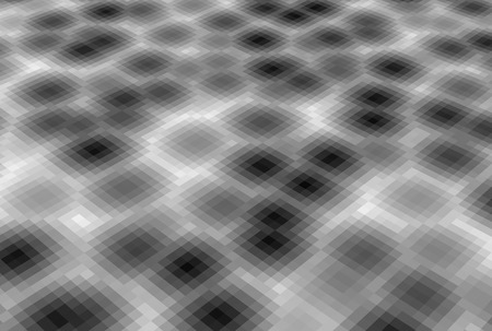 bubbling: abstract pixel blob fluid background in gray