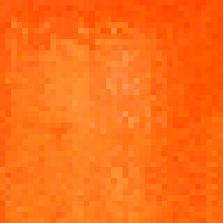 minimal: orange square pixel gradient grunge light effect