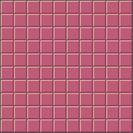 kitchen shower: wall with pink red tiles pattern