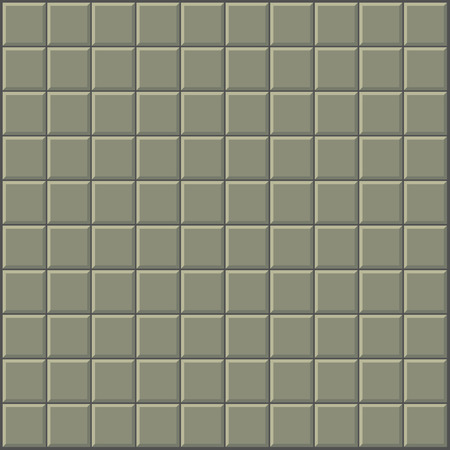 kitchen shower: tiles pattern stylized wall in olive green gray